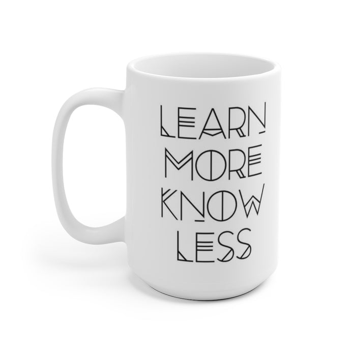 Learn More, Know Less