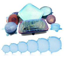 Load image into Gallery viewer, [6-pack] Stretch n Seal Lids