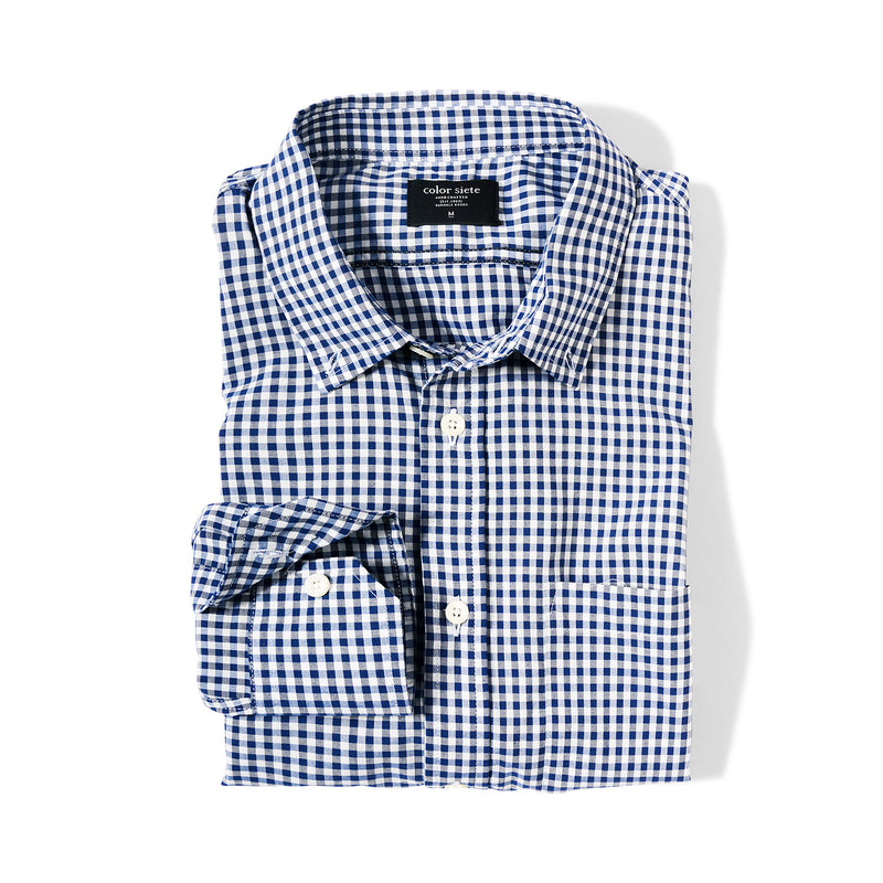 Camisa a cuadros Wooster - Azul