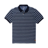 Polo Denim Striped para Hombre - Azul