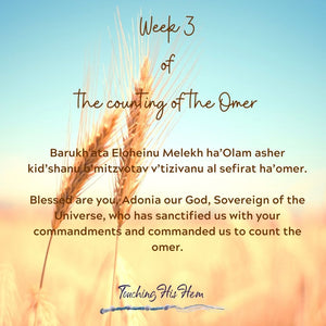 Week 3 of the Counting of the Omer - A reflective Study