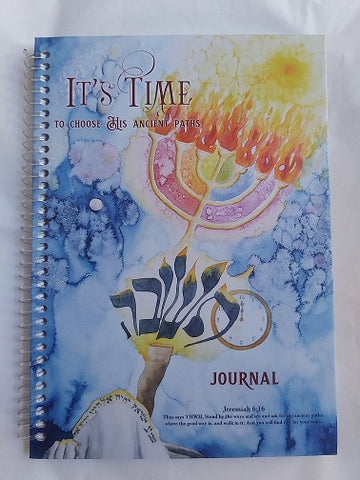 """It's Time"" Journal - Touching His Hem"