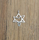 Star of Zion Pendant Medium - Touching His Hem