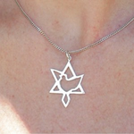 Star of Zion Pendant Small - Touching His Hem