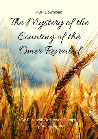 The Mystery of the Counting of the Omer by Elizabeth Robertson Campbell_Updated - Touching His Hem