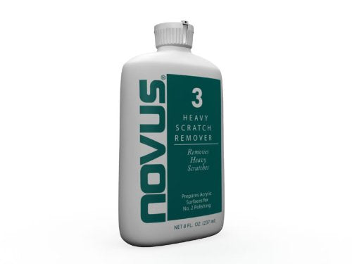 Novus PC-30 Plastic Heavy Scratch Remover - 8 oz.