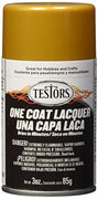 Testors 1846MT 3 oz. Lacquer Spray Gloss Paint, Pure Gold