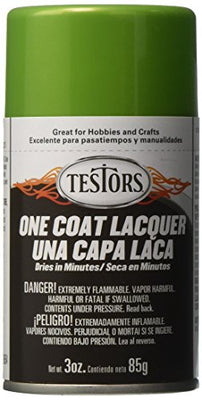 Testors TLACQUER-1835 Aerosol Lacquer Paint 3oz-Lime Ice