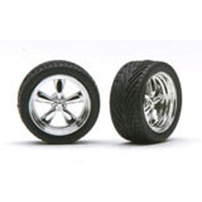 Pegasus Hobbies Chrome T's w/Tires PGH1274