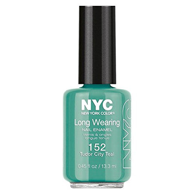 NYC Long Wearing Nail Enamel - Tudor City Teal