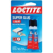 Loctite Super Glue Liquid, Two 2-Gram Tubes (1399963)