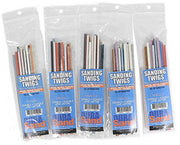 DuraSand Sanding Twigs, Hobby Craft and Models, Mixed Grit Bulk Discounts (5 Pack)