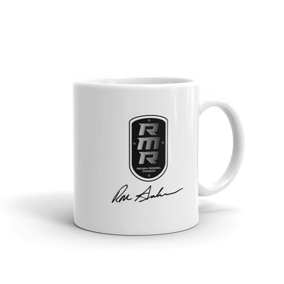 Resin Model Ranch Black Logo Mug
