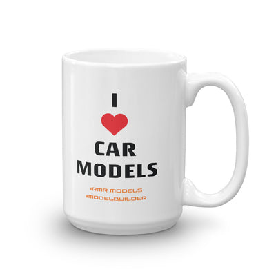 I Heart Car Models Mug