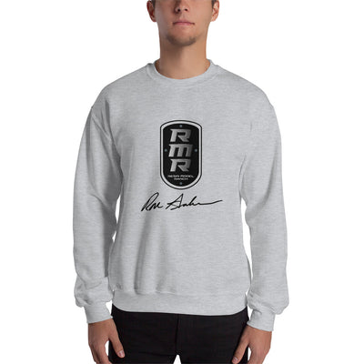 Resin Model Ranch Black Logo Sweatshirt