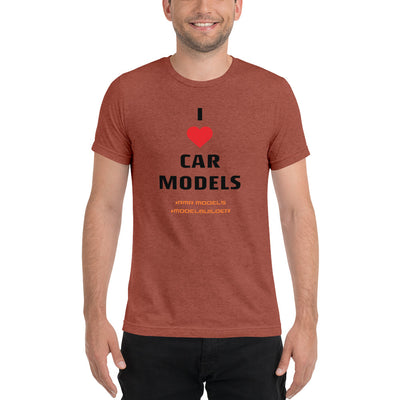 I Heart Car Models Short sleeve t-shirt