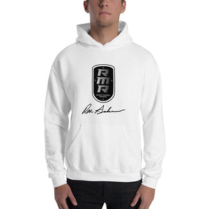 Resin Model Ranch Black Logo Hooded Sweatshirt