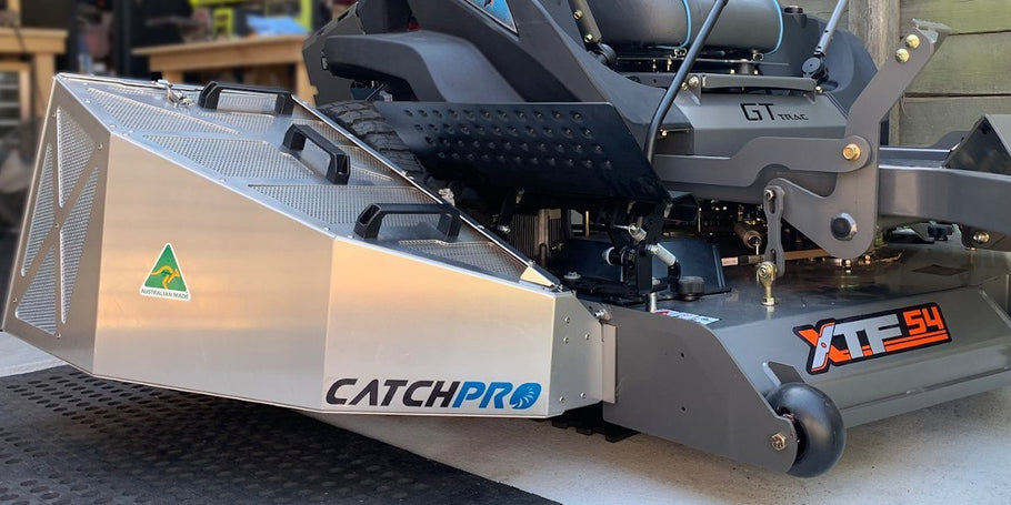 How to fit your Catch Pro Grass Catcher