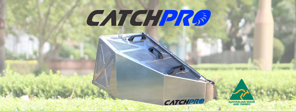 Catch Pro Grass Catchers - Now proudly wearing the Australian Made logo