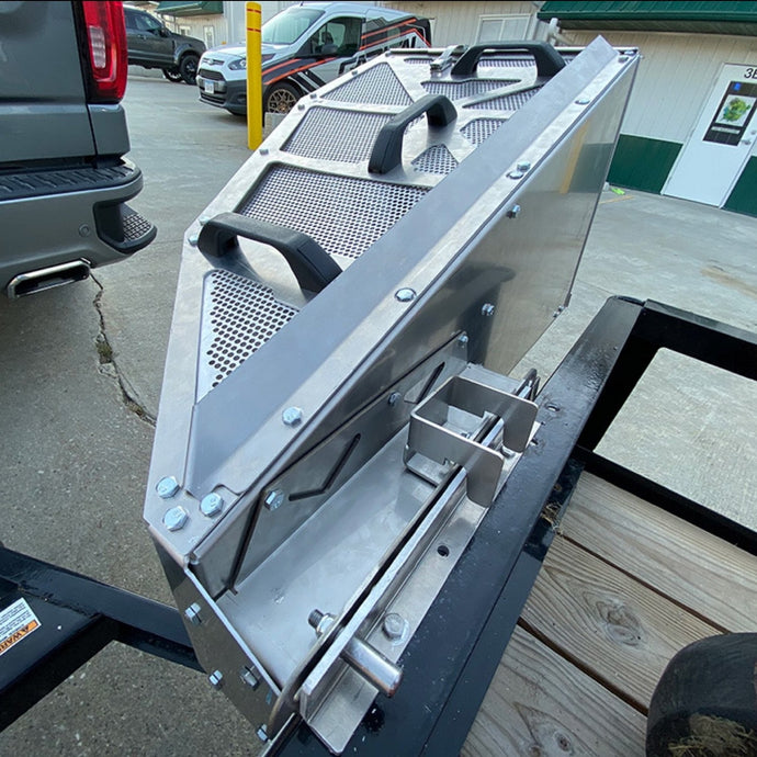 Catch Pro Grass Catcher Trailer Mounting Bracket - Version 2 - Catch Pro Australia