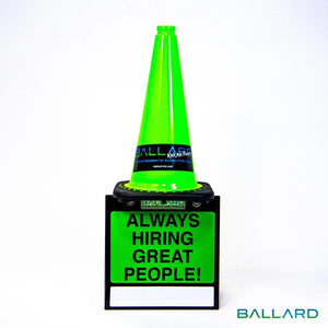 Cone Caddy With Marketing Sign - Catch Pro Australia