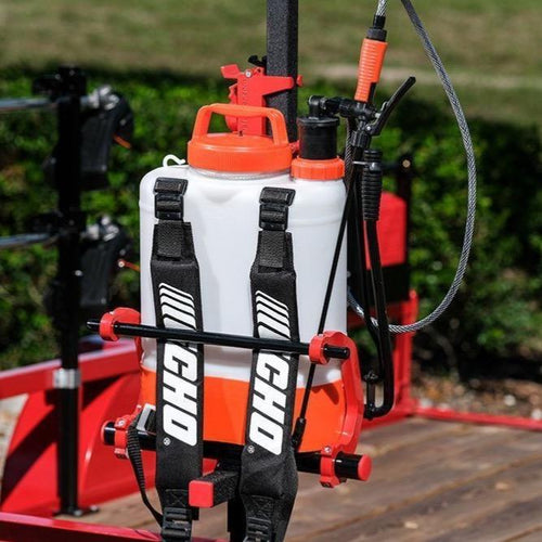 Equipment Defender - Backpack Sprayer Rack - Catch Pro Australia