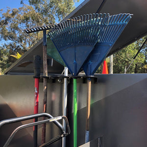 Equipment Defender - Open Trailer Hand Tool Rack - Catch Pro Australia