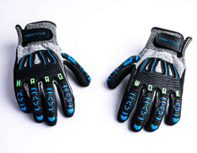 "Load image into Gallery viewer, ""Hard Work"" Gloves - Catch Pro Australia"