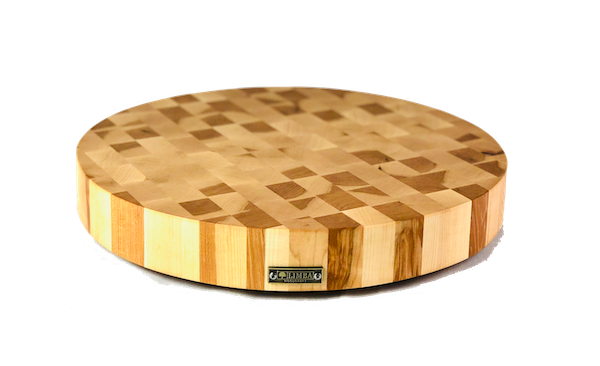 Round Maple Butcher Block End Grain | Cutting Boards -  LIMBA Woodcraft
