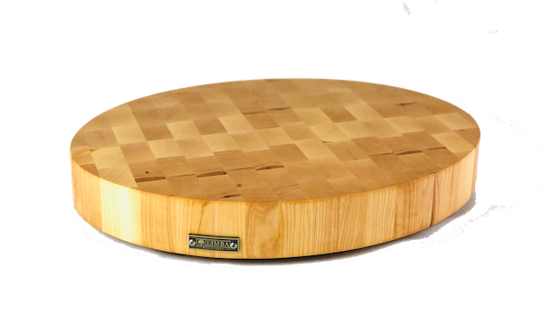 Oval Maple Butcher Block End Grain | Cutting Boards -  LIMBA Woodcraft