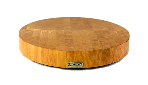Round Cherry Butcher Block End Grain | Cutting Boards -  LIMBA Woodcraft