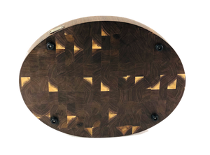 Oval Walnut Butcher Block End Grain | Cutting Boards -  LIMBA Woodcraft