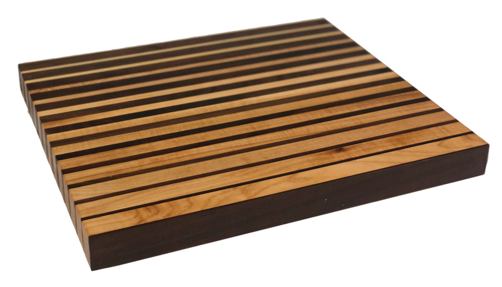 Illusion Lines Butcher Block Long Grain | Cutting Boards - LIMBA Woodcraft