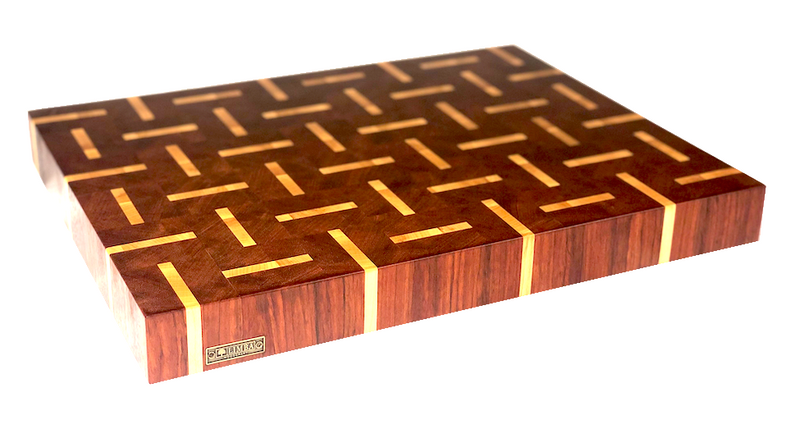 Morse in Jatoba Butcher Block End Grain | Cutting Boards - LIMBA Woodcraft