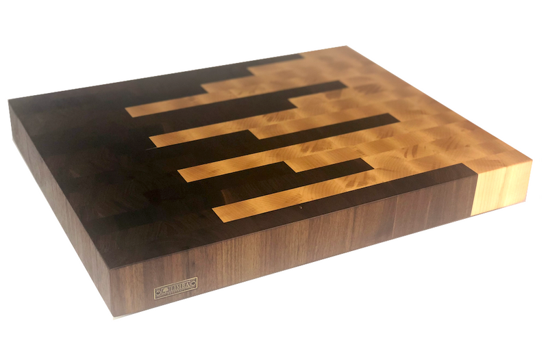 Walnut & Maple Butcher Block End Grain | Cutting Boards -  LIMBA Woodcraft