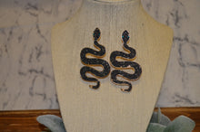 Load image into Gallery viewer, Beaded Snake Earrings