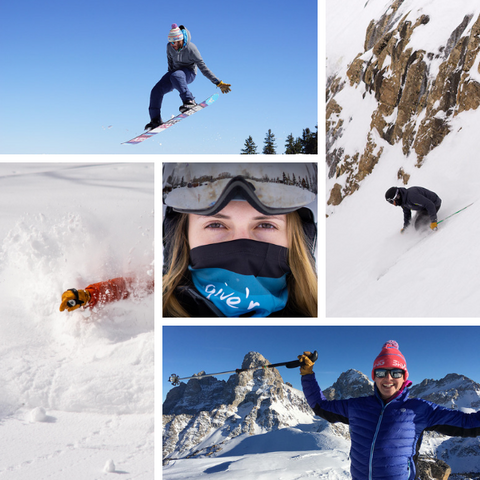 Testing Give'r Gloves & Gear in the Tetons' Rugged Ski Terrain!