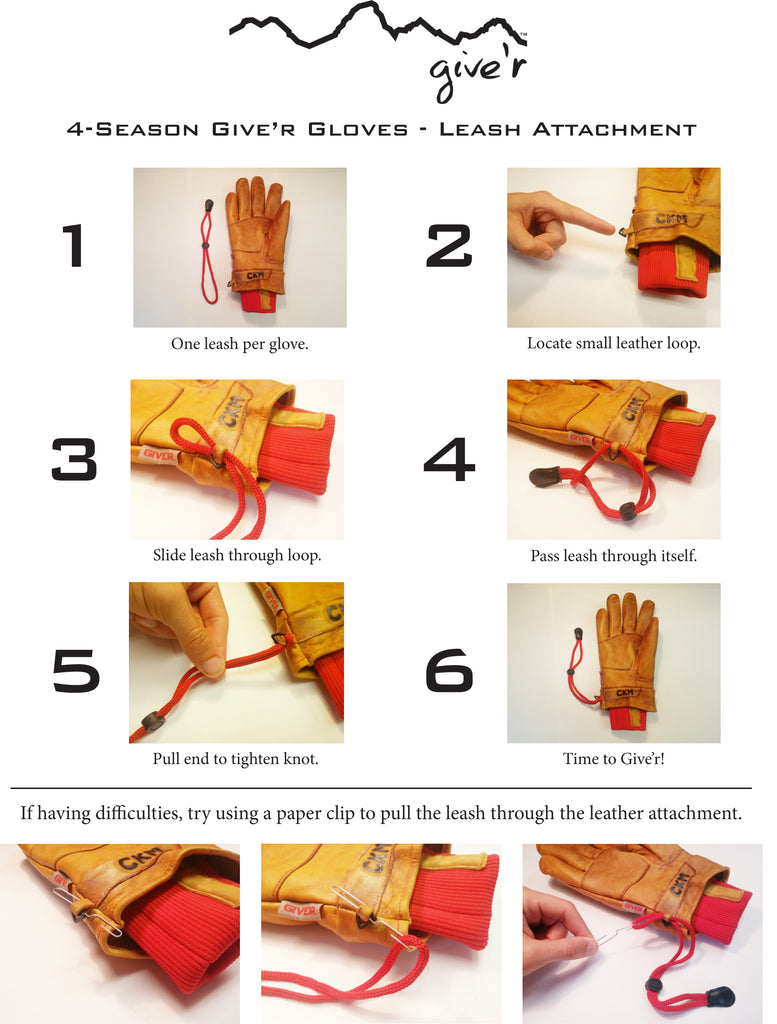 4-Season Glove Leash Application