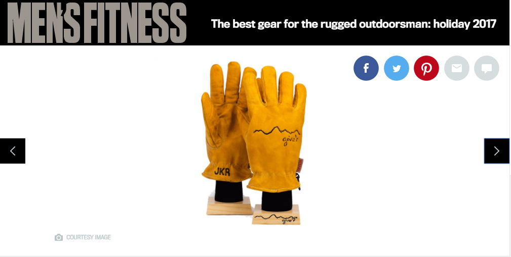Men's Fitness Classic Leather Give'r Work Glove