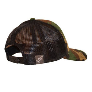 Wyoming Trout Trucker Hat