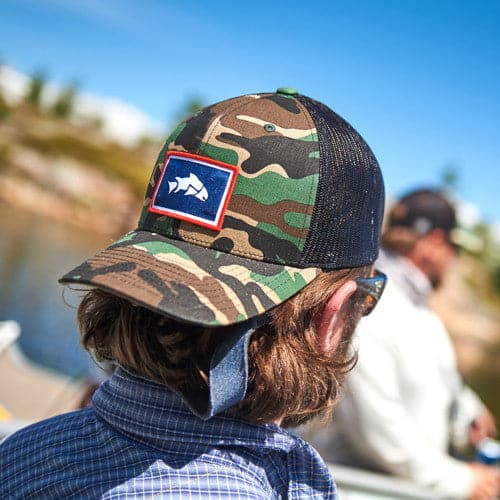 bd3bccac52b3 ... Give'r Magnet Trout Hat, Magnet fishing hat, fly fishing fly holder, ...