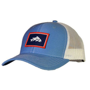 Wyoming Trout Hat, Fly Fish Wyoming, Give'r Trucker Hat