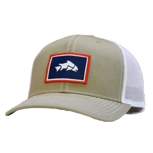 Breathable Wyoming Fishing Hat, Fly Fish Wyoming, Give'r Trucker Hat