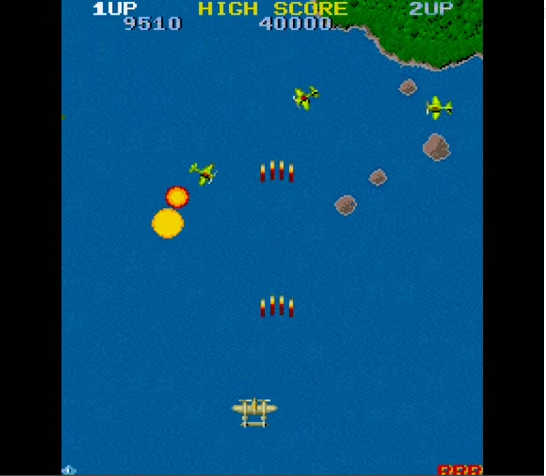 The story of 1942 is set during the Pacific Theatre of World War II. You  control a pretty cool little plane called the Space Ace.