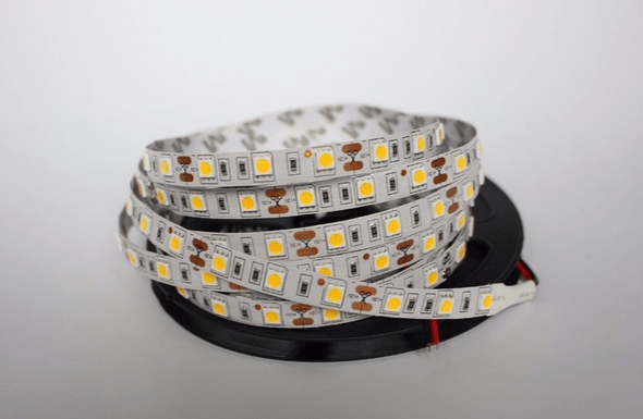 5m 12V White Light 5050 LED Strip - DIY Arcade Australia