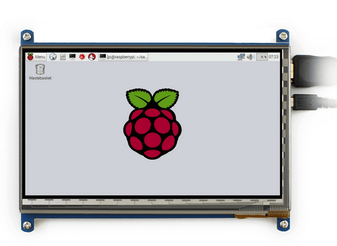 7 Inch LCD screen for Raspberry Pi 3(1024*600)
