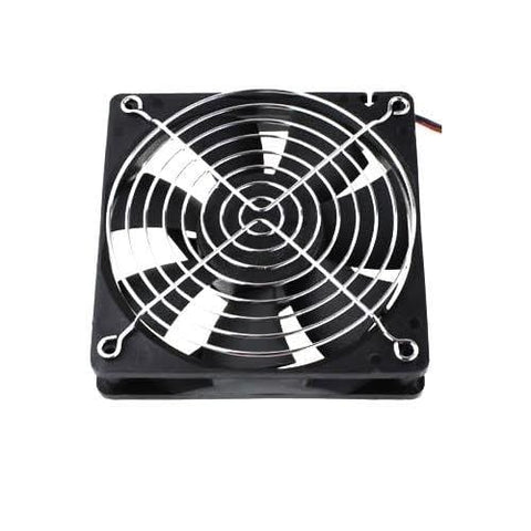 8cm Cooling Fan with Grill - DIY Arcade Australia