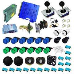 Ultimate 750 in 1 DIY Arcade Kit (Blue & Green)