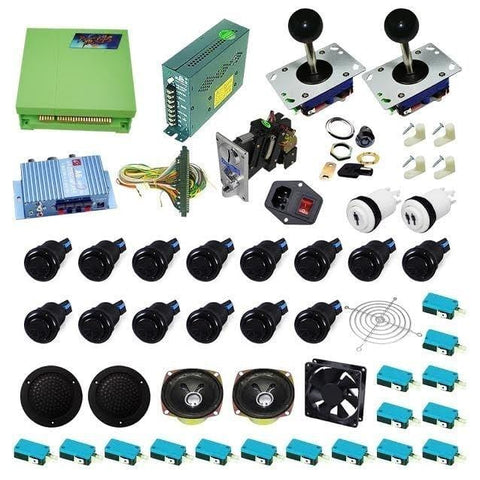 Ultimate 815 in 1 DIY Arcade Kit (All Black )
