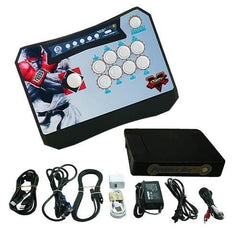 Wireless Arcade Stick Home Console with 815 games (One player) Black